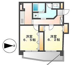 第二プロスパービル[5階]の間取り