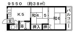 高橋マンション[105号室号室]の間取り