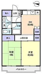 カーサ八千代[3階]の間取り