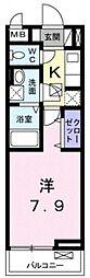 マハロ2[1階]の間取り