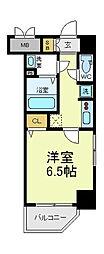 ボンニー松崎町[3階]の間取り
