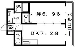 スピカケーティ[3階]の間取り