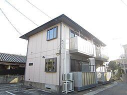 埼玉県上尾市柏座4丁目の賃貸アパートの外観