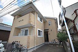 福岡県春日市大和町3丁目の賃貸アパートの外観