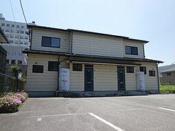 新潟県新発田市本町1丁目の賃貸アパートの外観