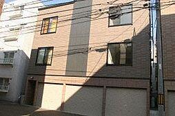 北海道札幌市中央区南七条西12丁目の賃貸アパートの外観