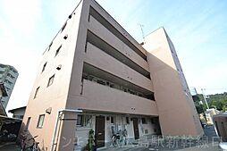 広島県広島市東区牛田早稲田2丁目の賃貸マンションの外観