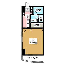 メゾンロイヤルかみとまつり[2階]の間取り