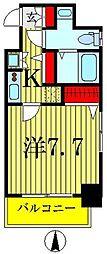 ヴェルト亀戸[7階]の間取り