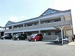 滋賀県甲賀市水口町北泉2丁目の賃貸アパートの外観