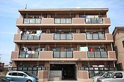 愛知県名古屋市中川区富田町大字千音寺字市場上屋敷の賃貸マンションの外観