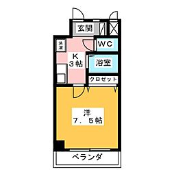 K01[8階]の間取り