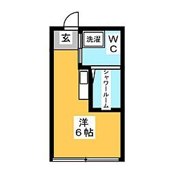 スペースDOU[3階]の間取り