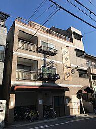 河波マンション[4階]の外観