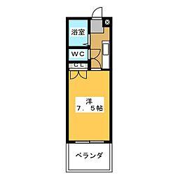 那加住吉ビル[4階]の間取り