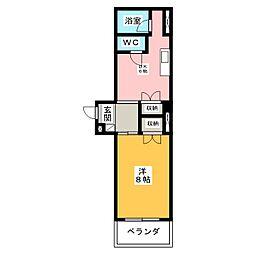I.S NO.6[4階]の間取り