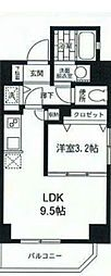 ルジェンテ・バリュ横濱反町[2階]の間取り