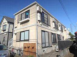 東京都町田市森野2の賃貸アパートの外観