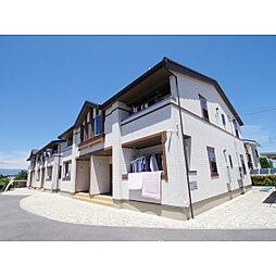 長野県松本市大字松原の賃貸アパートの外観