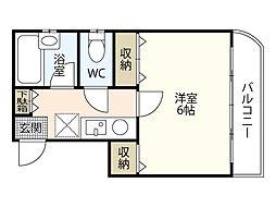 ニューホライズン松本[3階]の間取り