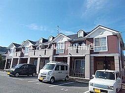 岡山県玉野市田井4の賃貸アパートの外観
