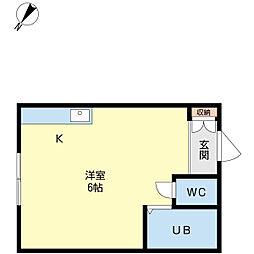 澄川駅 1.6万円
