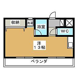 NTビル塩釜2[2階]の間取り