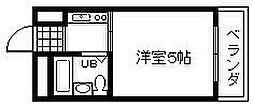 泉州昭和ビル[203号室]の間取り