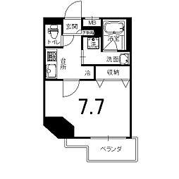 アスヴェル京都西京極[8階]の間取り