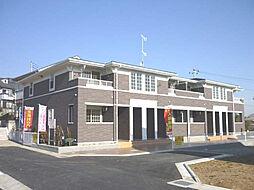 神奈川県伊勢原市沼目1丁目の賃貸アパートの外観
