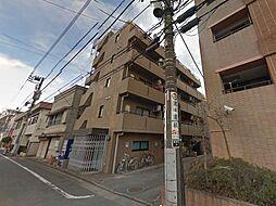 東京都八王子市南新町の賃貸マンションの外観