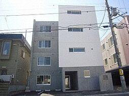北海道札幌市白石区南郷通18丁目南の賃貸マンションの外観