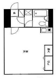 ブランニュー金沢文庫[2階]の間取り