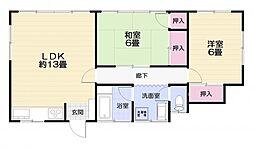 [一戸建] 神奈川県横須賀市太田和2丁目 の賃貸【/】の間取り