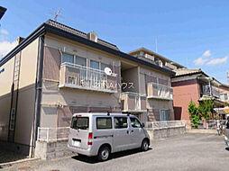 埼玉県上尾市栄町の賃貸アパートの外観
