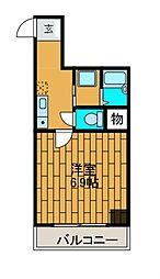 ジュクトワン相模原ビル[6階]の間取り