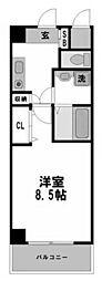 ヴェリテ新大阪[801号室]の間取り