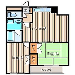 マンション蔵(マンションクラ)[3階]の間取り