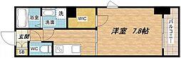 ハイムラポール松屋町[8階]の間取り