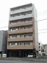 北海道札幌市豊平区豊平四条11丁目の賃貸マンションの外観