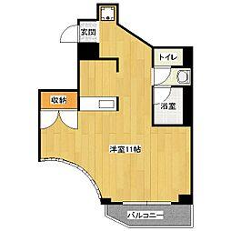 山科IMビル[4階]の間取り