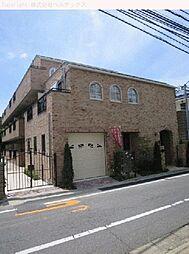 東京都新宿区下落合の賃貸マンションの外観