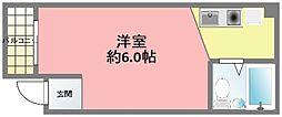 兵庫県西宮市江上町の賃貸マンションの間取り