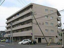 北海道札幌市北区北三十五条西10丁目の賃貸マンションの外観