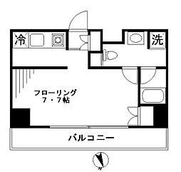 リファイズ エムエス[10階号室]の間取り