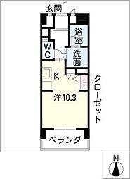 G・EXCEED A棟[6階]の間取り