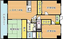 アビタシオンOKI(アビタシオンオキ)[2階]の間取り