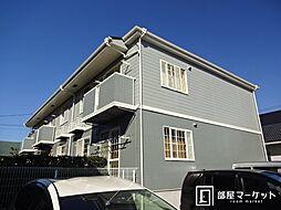 愛知県豊田市朝日町2丁目の賃貸アパートの外観