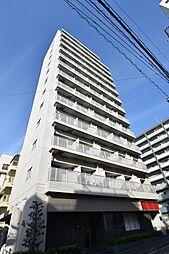 東京都江東区常盤2丁目の賃貸マンションの外観
