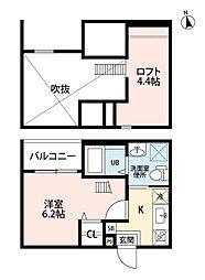 中小田井1丁目B棟(仮称)[1階]の間取り